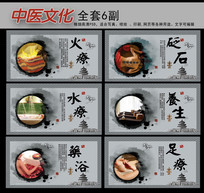 中医文化健身保健展板设计
