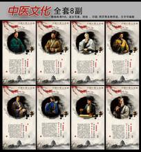 中医文化神医卡通人物设计
