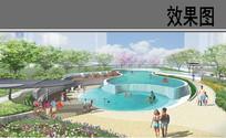 自贸区商业综合体泳池公园 JPG
