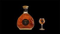 Camus XO酒瓶图素材 PSD