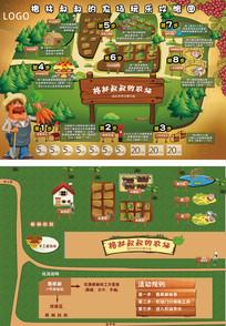 格林叔叔农场攻略卡通地图 PSD