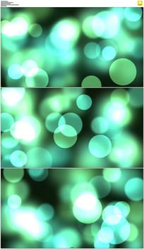 绿色光斑背景视频素材