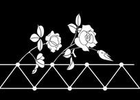 玫瑰心语雕刻图案 CDR