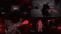 虚拟现实战斗枪视频