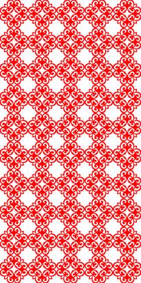 精密红花纹理图案