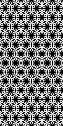 六角平花纹理图案