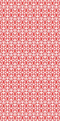堂皇红花纹理图案