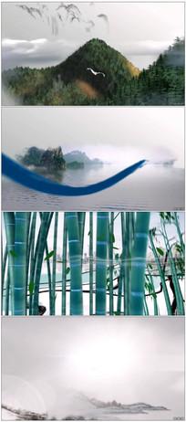 中国风水墨风格AE模板片头