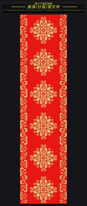 汉唐大红欧式婚礼T台地毯素材