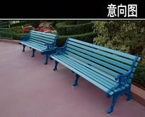 蓝色座椅 JPG