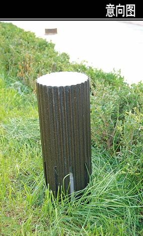 木制原型地灯