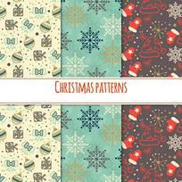 圣诞图案包装纸素材