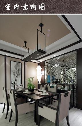 现代风格家装餐厅 现代家装餐厅布置 现代家装餐厅 中式家装餐厅设计