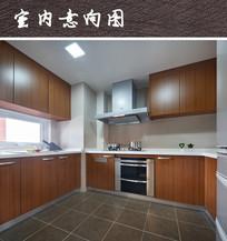 现代清爽厨房装修