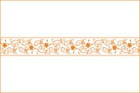 中式花纹移门图案