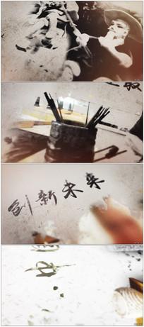 传承复古中国风水墨片头