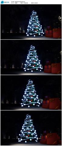 发光圣诞树视频