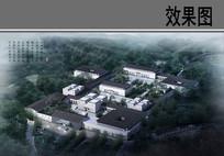 古镇国际旅游度假区鸟瞰图