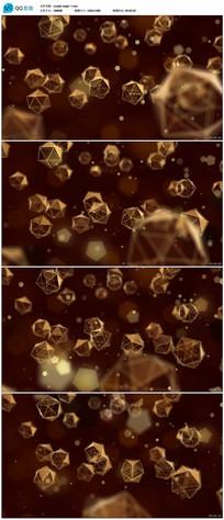 粒子水晶背景视频