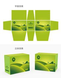 绿色简洁化肥包装