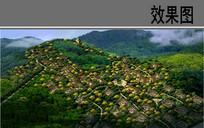 乡村景观鸟瞰效果图 JPG