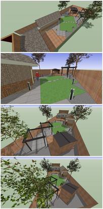 小庭院设计