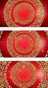 元旦春节联欢晚会视频包装背景