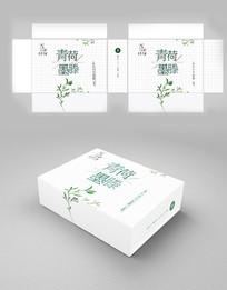 中国风简约文艺茶包装设计