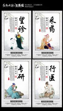 中医文化展板设计 PSD