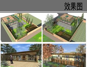 民族特色村庄建筑设计