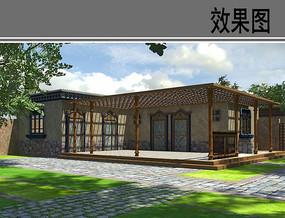 民族特色院落与建筑设计