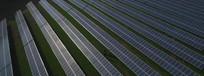 太阳能电池新能源科技高清航拍