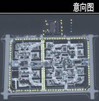 沧州某小区二轮照明设计图