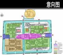 沧州某小区一轮功能分析图