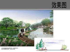 村庄滨水游憩道路设计