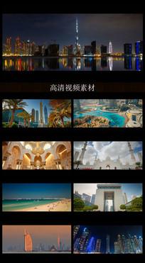 迪拜城市宣传片视频素材