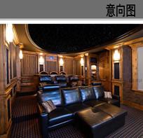高级私人影院