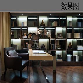简易书桌书房