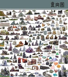 假山石素材