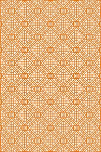几何正方形雕刻图案