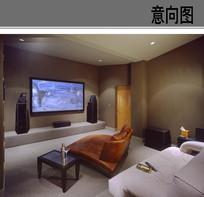 酒店房间卧室布置设计