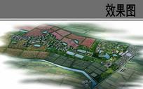 美哈乡村建设总体鸟瞰图 JPG