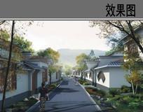 美丽乡村中式住宅设计效果图