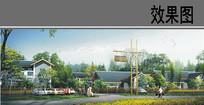 美丽乡村住宅区设计效果图 JPG