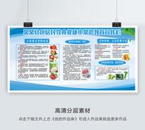 饮食健康小常识宣传栏