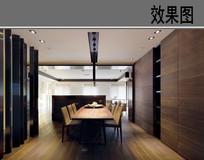 原木现代餐厅