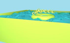 LAPOOL英文字体设计