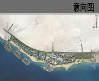 滨海度假中心平面图