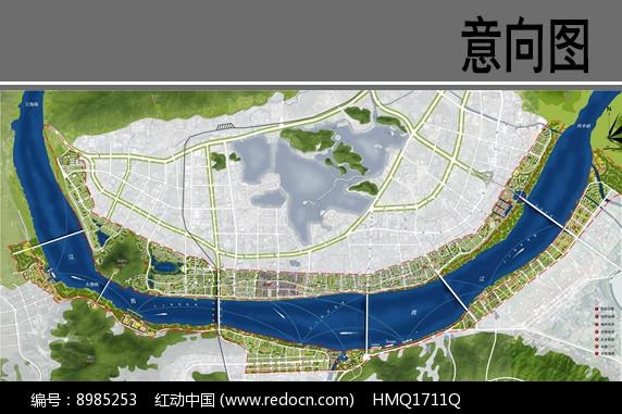 滨江绿地景观设计平面图图片