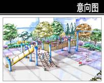 沧州某小区一轮幼儿园设计效果 JPG